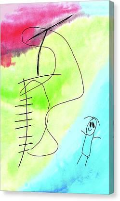 Slide Canvas Print by Nikolyn McDonald