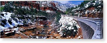 Slide Rock Creek, Sedona, Arizona Canvas Print by Panoramic Images