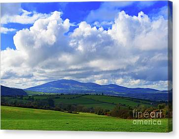 Slieve Na Man Canvas Print