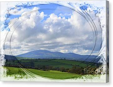 Slievenamon - The Mountain Of The Women Canvas Print