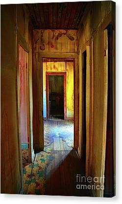 Lino Canvas Print - Slightly Askew by Lauren Leigh Hunter Fine Art Photography