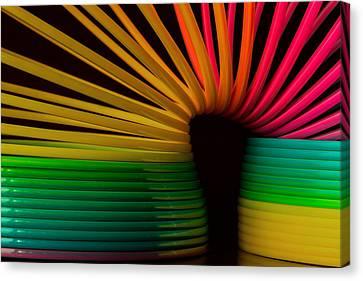 Slinky Canvas Print