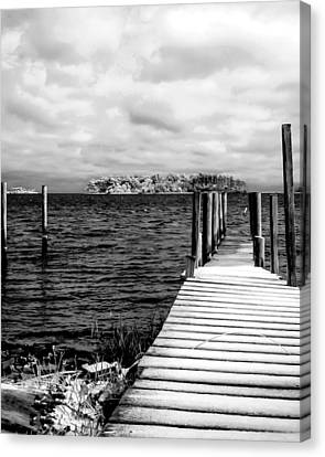 Slippery Dock Canvas Print
