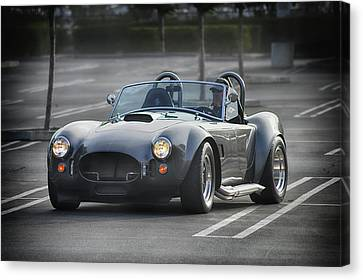 Canvas Print featuring the photograph Slithering Into Tvme by Bill Dutting
