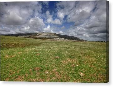 Slive Carran Mountain Canvas Print by John Quinn