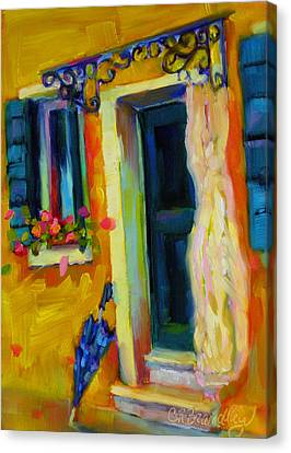 Sliver Of Sunshine Canvas Print by Chris Brandley