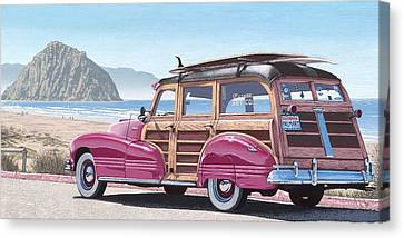 Slo Wood Canvas Print by Andrew Palmer