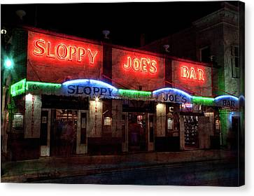 Sloppy Joes Bar Canvas Print
