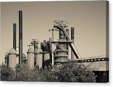 Sloss Furnaces National Historic Canvas Print by Panoramic Images