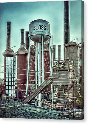 Sloss Furnaces Tower 3 Canvas Print