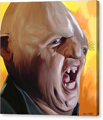 Sloth From Goonies Canvas Print