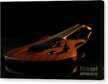 Canvas Print featuring the photograph Slow-hand-guitar by Franziskus Pfleghart