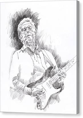 Slowhand Canvas Print by David Lloyd Glover