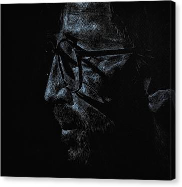 Slowhand Canvas Print by Matthew Fredricey