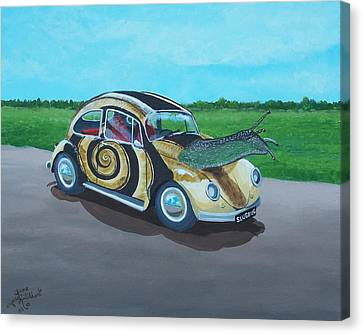 Slug Bug Canvas Print