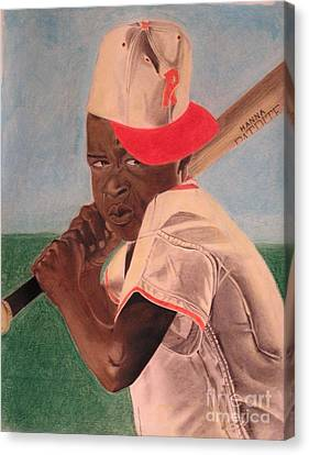 Slugger Canvas Print by Wil Golden