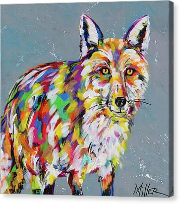 Sly Fox Canvas Print by Tracy Miller