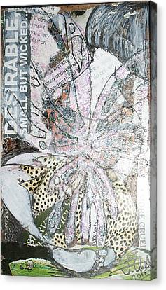 Small But Wicked Canvas Print by Joanne Claxton