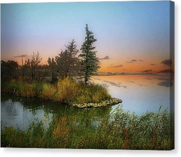 Small Island Canvas Print