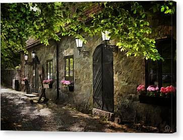 Small Town Idyll Canvas Print by Gun Legler