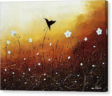 Canvas Print featuring the painting Small Treasure by Carmen Guedez