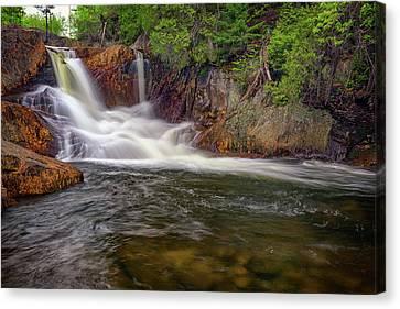 Smalls Falls Canvas Print by Rick Berk