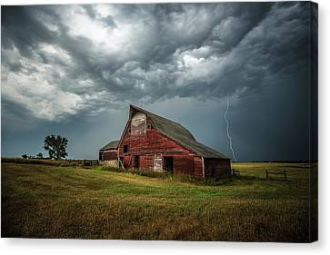 Canvas Print featuring the photograph Smallville by Aaron J Groen