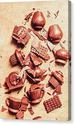 Smashing Chocolate Fondue Party Canvas Print by Jorgo Photography - Wall Art Gallery