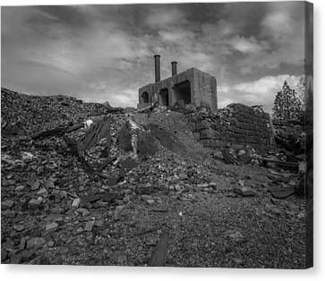 Smelter Ruins Canvas Print by Michele James