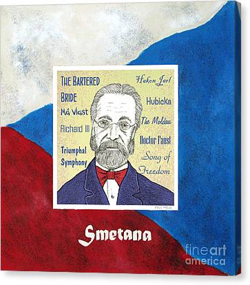 Smetana Canvas Print by Paul Helm