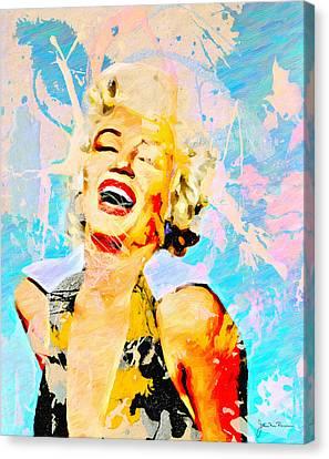 Smile Smile Smile Canvas Print by John Farr
