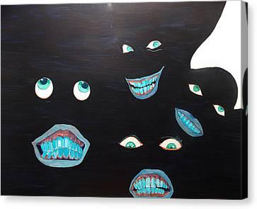 Smiles Canvas Print by Lazaro Hurtado