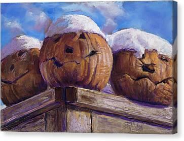 Smilin Jacks Canvas Print by Billie Colson