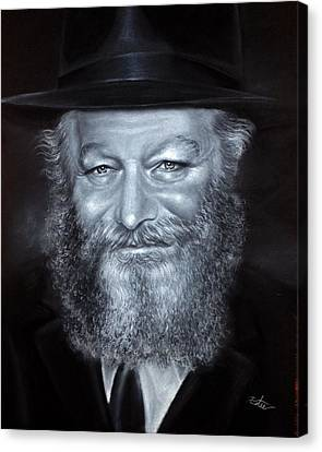 Smiling Rebbe Canvas Print