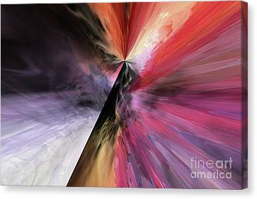 Canvas Print featuring the digital art Smite The Evil  by Margie Chapman