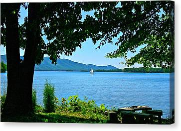 Smith Mountain Lake Sailor Canvas Print