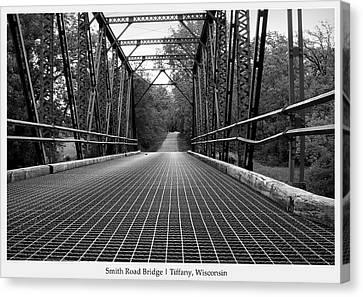 Smith Road Bridge  Canvas Print by Viviana  Nadowski