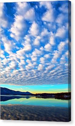 Sml Sunrise Canvas Print by The American Shutterbug Society