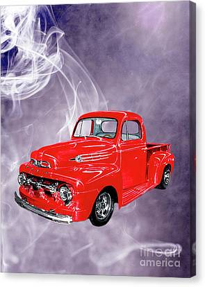 Smok N Hot 52 Ford F 100 Canvas Print