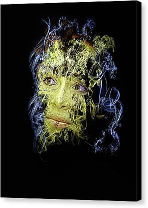 Smoke And Mirror Canvas Print