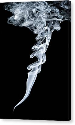 Smoke Patterns Canvas Print by Paul Rapson