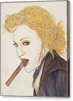Smoke Signals Canvas Print by Joseph Lawrence Vasile