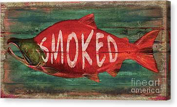 Canvas Print - Smoked Fish by Joe Low
