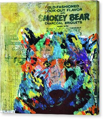 Smokey Bear Canvas Print