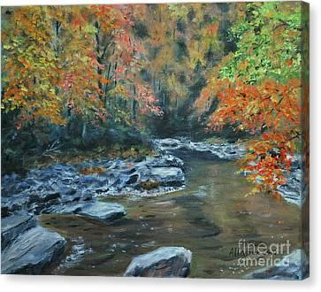 Smokey Mountain Autumn Canvas Print