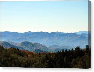 Smokey Mountains Canvas Print