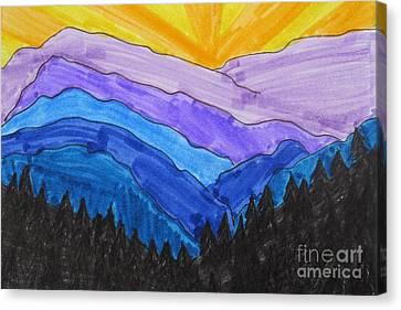 Smokey Mountains National Park Canvas Print by Jana Kelly