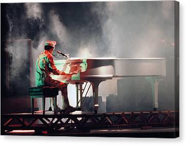 Smokin' Elton Canvas Print by Scott Smith