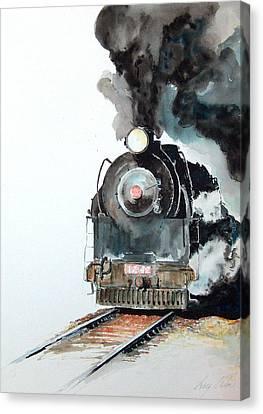 Smokin Canvas Print by Greg Clibon