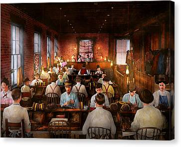 Canvas Print - Smoking - Cigar - Hand Rolled Cigars 1909 by Mike Savad
